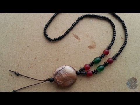How To Make Pretty Beaded Ethnic Necklace - DIY Style Tutorial - Guidecentral