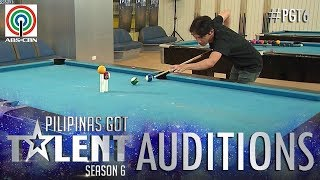 Pilipinas Got Talent 2018 Auditions: Jonacris Bandillo - Billiard Tricks