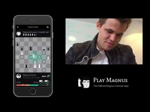 Magnus Carlsen vs. Magnus Carlsen on Play Magnus App  - Age 14 Years 4 Months