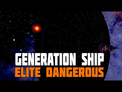 Elite Dangerous - Generation Ship Discovered (and how to get there)