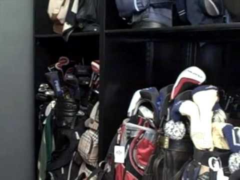 Case Study - Trump International Golf Bag Storage System