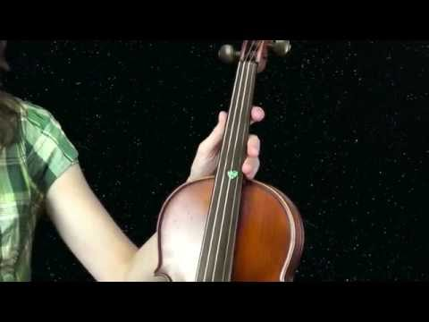 Basic violin notes fingering