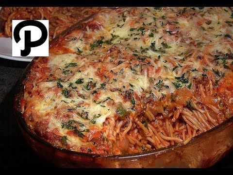 World's Best Baked Spaghetti: Easy Cheesy Baked Spaghetti Recipe