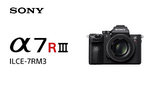 Sony | α | α7R III - Product Feature