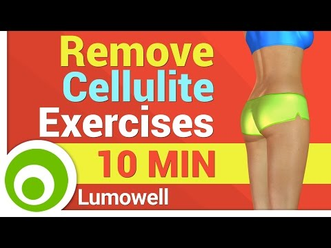 Exercises to Remove Cellulite from Butt and Thighs
