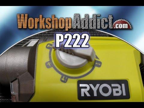 Ryobi P222 18V SDS Plus Rotary Hammer Drill Review