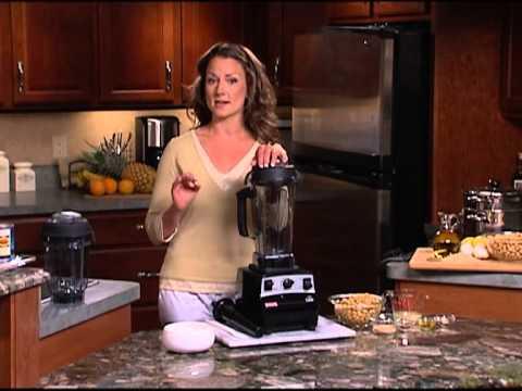 Vitamix 04 - Blending (Frozen Margarita, Frozen Cappucino, Hummus)
