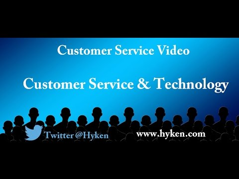 Customer Service Expert Discusses Customer Service and Technology
