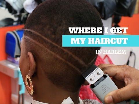 Where I get my haircut in Harlem
