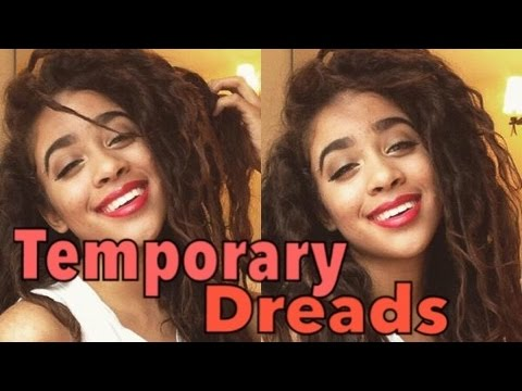 How to Create Temporary Dreads at Home 100% Easy