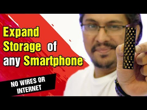 Expand Storage of any Smartphone Wirelessly