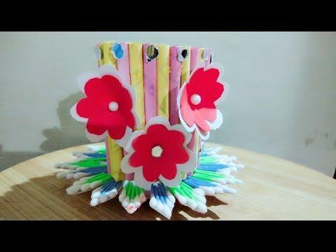 Best Reuse Of Waste Paper /Creative Art/DIY Art and Craft Ideas/Handmade Craft decoration /disign