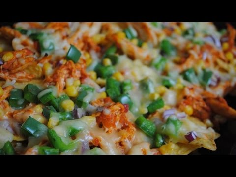 CHICKEN ENCHILADA NACHOS - Student Recipe