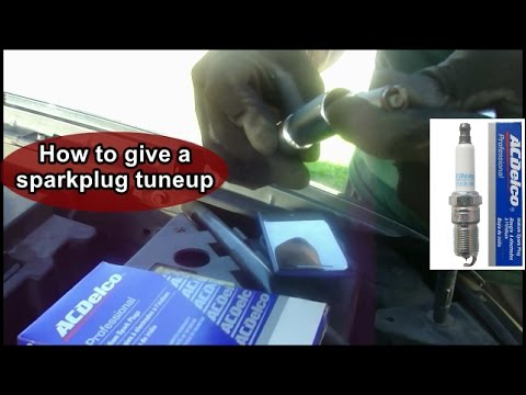 How to change spark plugs on a SUV (GMC Envoy)
