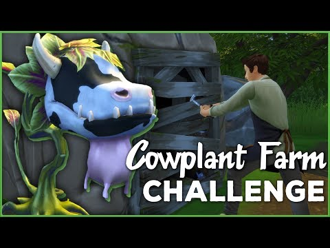 Breaking into the Forgotten Grotto!! 🐄🌱 Sims 4 Cowplant Farm: Episode #28