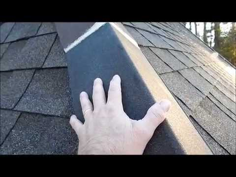 Cleaning Clay Tile Roof Caps in Louisiana