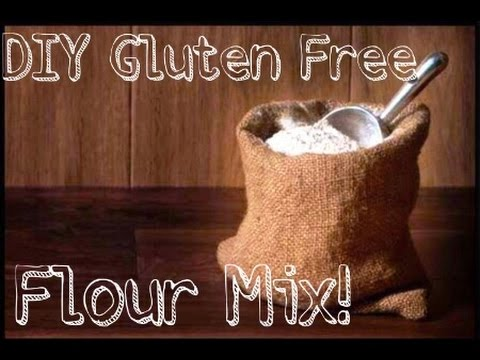 Back to The Grind - DIY Gluten Free Flour Mix (Baking Tutorial)