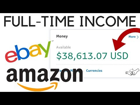 How to Make a Living Reselling Online | When to go Full-Time? Grow your eBay & Amazon Business!