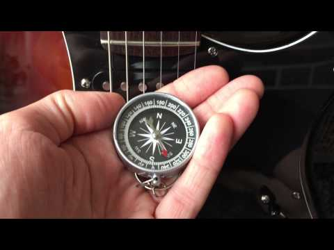 How to detect if a pickup is rw/rp using a compass