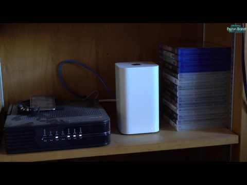 How to Set Up an AirPort Extreme or Time Capsule