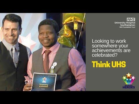UHS Jobs | Hospital Heroes 2015 - outstanding achievement award