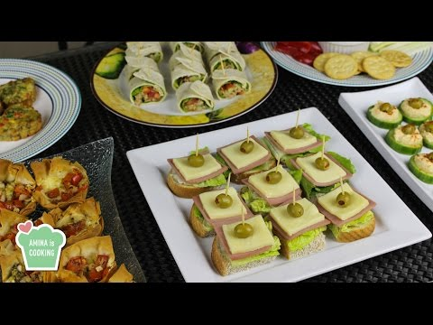 Finger Food Ideas/ Recipes - Episode 129 - Amina is Cooking