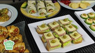 Download Finger Food Ideas/ Recipes - Episode 129 - Amina is Cooking Video
