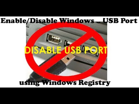 How to Enable and Disable USB port in Windows - Easy, Fast & Simple Steps