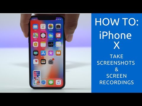 How To Take A Screenshot With The iPhone X