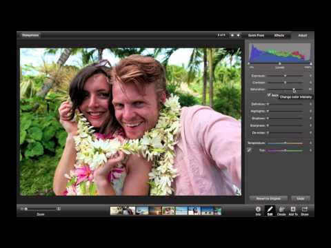 iPhoto Tip: Editing a Photo