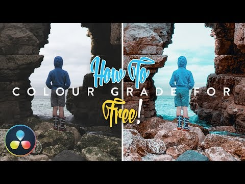 How to Color Grade for FREE using LUTs | TUTORIAL