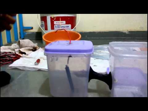 How to make an Microbial Electrolysis Cell MEC ( Part 2 )