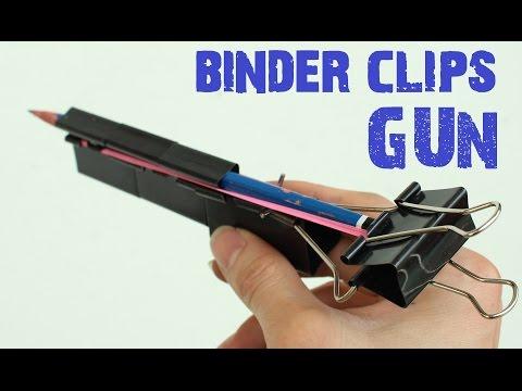 How to make a Binder Clips Gun