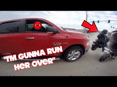 Teaching Keith's Girlfriend How To Ride A Motorcycle! *Road Rage*