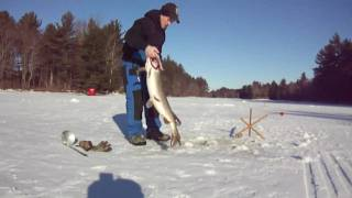 Survivor Man Ice Fishing Bloopers