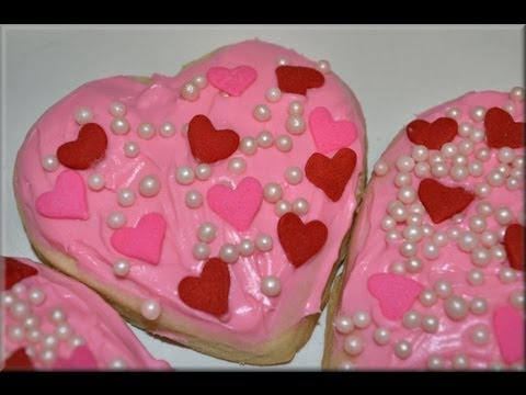 VALENTINE'S DAY COOKIE recipe! - CookwithApril