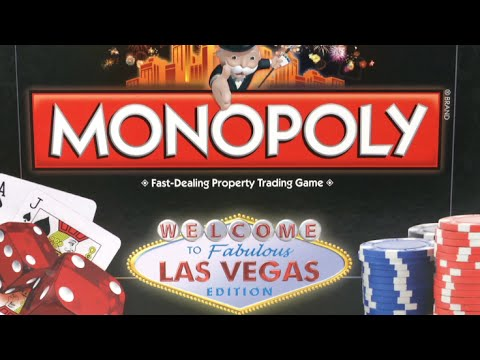 Monopoly Las Vegas from USAopoly