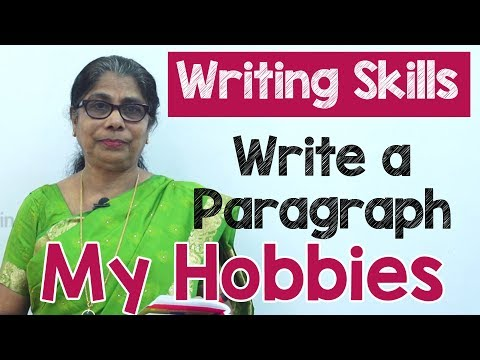 How to Write a Paragraph about My Hobbies in English | Composition Writing  | Reading Skills