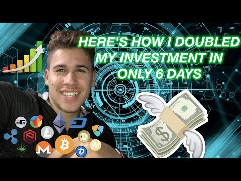 How I Doubled My Crypto Investment In 6 Days! Beginner Guide