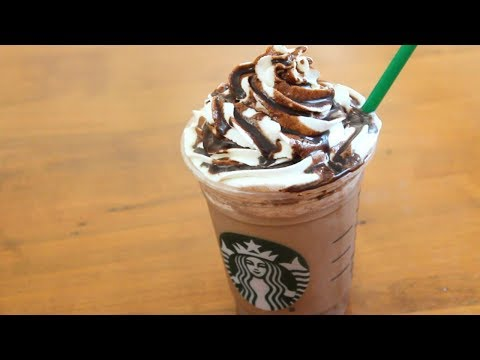 Starbucks Double Chocolate Chip Frappuccino | 4 ingredients