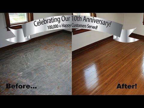 Hardwood Floor Refinishing Baltimore, MD | Clean Hardwood Floors | Mr. Sandless Baltimore, MD