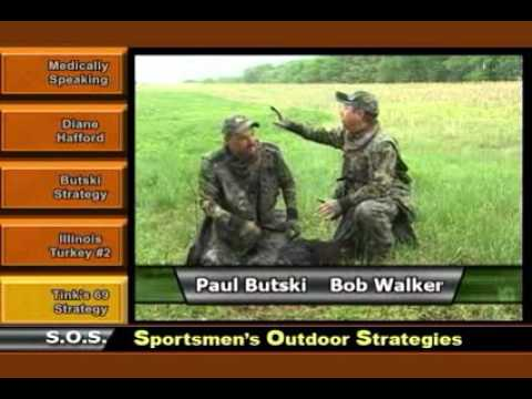 Sportsmen's Outdoor Strategies - Paul and his Rocky Branch Outfitters Turkey Hunt