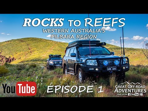 Rocks to Reefs Ep 1 - Overlanding, Offroading, Camping, Mt Meharry, Karijini