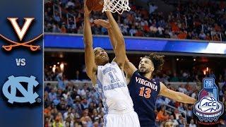 Virginia vs. North Carolina 2016 ACC Basketball Championship Game Highlights