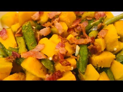 GINISANG KALABASA w/ BACON recipe