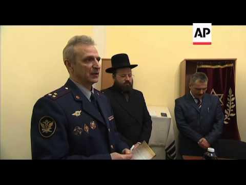 Jewish prison inmates prepare to celebrate Passover