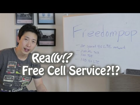 Free Cellphone Service from Freedompop | BeatTheBush