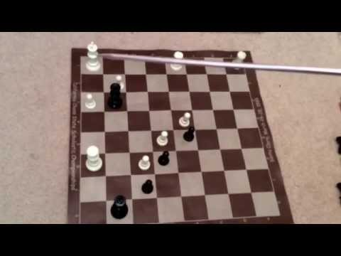 Black is in loosing position and can force stalemate (draw, in other words, a tie)