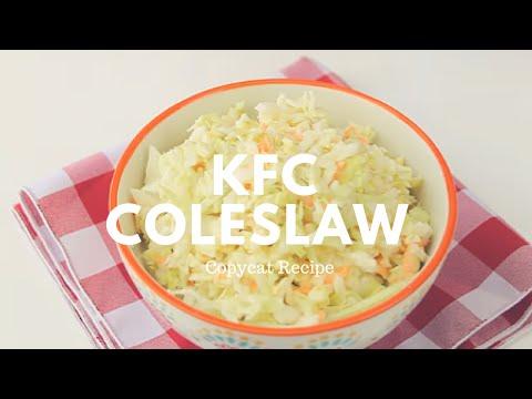 KFC Coleslaw Copycat Recipe   Crunchy Creamy Sweet