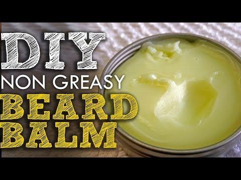 How to Make a Non-Greasy Beard Balm DIY